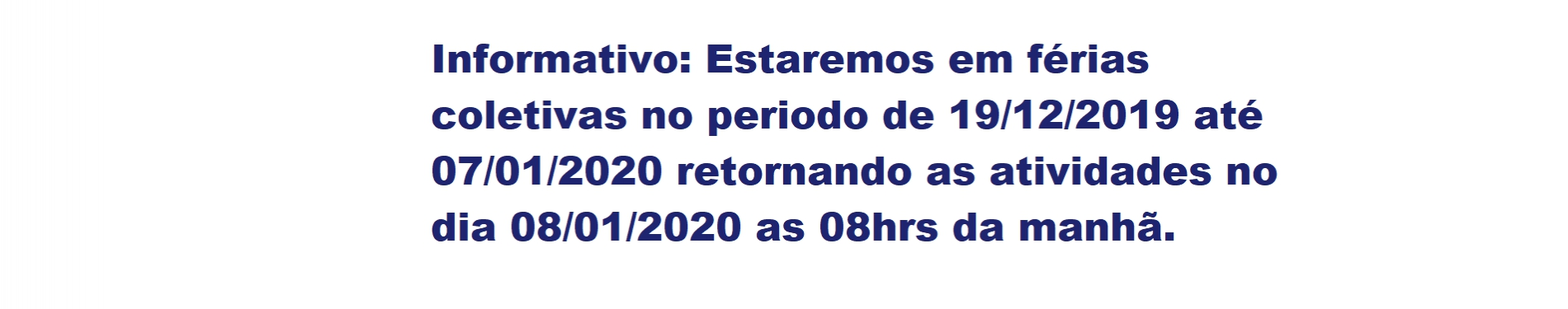 Informativo 2019