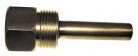 Poço para Termômetro em Latão 50mm x 1/2