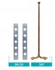 Kit Misturador Para Chuveiro Duplocomando - Dry Wall