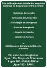 Placas Mensagem M1 Informações Gerais