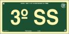 Placas Fotoluminescentes Pavimentos S17 - Sub Solo 3