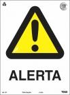 Placas Alerta A1 - Alerta