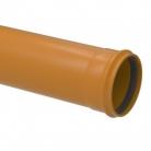 Tubo PVC Esgoto Ocre